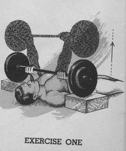 Charming The Setup Position For The Hackenschmidt Floor Press.